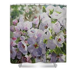 Flower_14 Shower Curtain