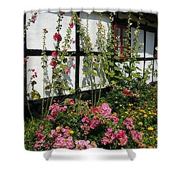 Flowergarden Shower Curtain