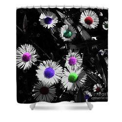 Flowers-001 Shower Curtain