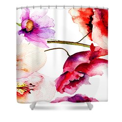 Flowers 02 Shower Curtain