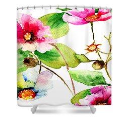 Flowers 03 Shower Curtain