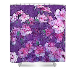 Flowers #063 Shower Curtain by Barbara Tristan