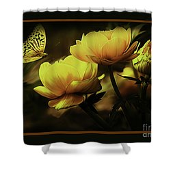 Flowers 093 Shower Curtain
