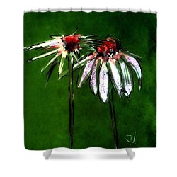 Flowers - 14april2017 Shower Curtain by Jim Vance