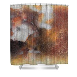 Flowers Abstract 1 Shower Curtain