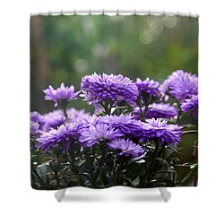 Shower Curtain featuring the photograph Flowers Edition by Bernd Hau
