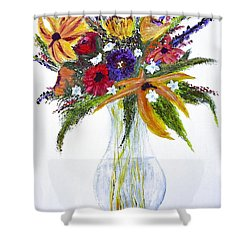 Flowers For An Occasion Shower Curtain