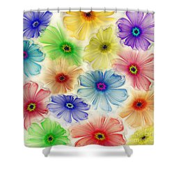 Flowers For Eternity Shower Curtain