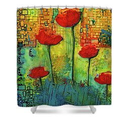 Flowers For My Son - March 2016 Shower Curtain