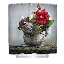 Flowers For You Shower Curtain by Brian Wallace