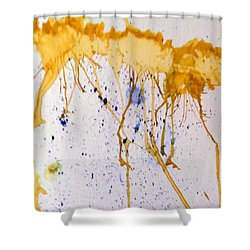 Flowers  In The Sky Shower Curtain by Sheri Keith via Jayci