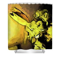 Flowers Of Yellow 1 Shower Curtain