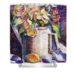 Flowers Shower Curtain by Stan Esson