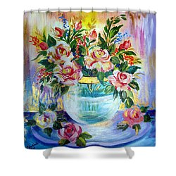 Flowers Still Life  Shower Curtain