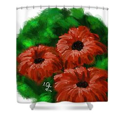 Flowers1 Shower Curtain