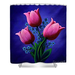 Flowessense Shower Curtain