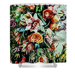 Flowing Bouquet Shower Curtain