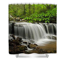 Flowing Easy Shower Curtain