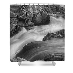 Flowing Waters At Kern River, California Shower Curtain