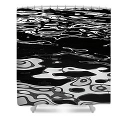 Fluid Abstract Shower Curtain