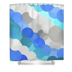 Fluid Shower Curtain by Dan Sproul
