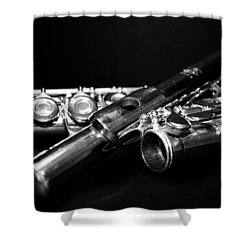 Flute Series I Shower Curtain
