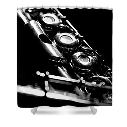 Flute Series IIi Shower Curtain
