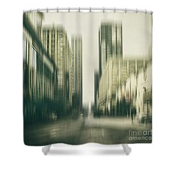 Flux Shower Curtain by Andrew Paranavitana
