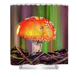Fly Agaric #g7 Shower Curtain