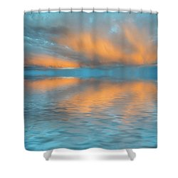 Fly Away With Me Shower Curtain by Jerry McElroy