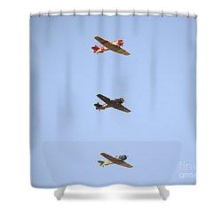Fly Boys Shower Curtain