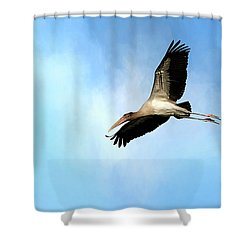 Fly By 2 Shower Curtain