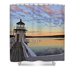 Fly By Morning Shower Curtain