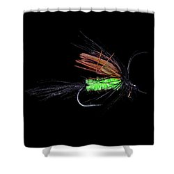 Fly-fishing 1 Shower Curtain