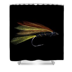 Fly Fishing 3 Shower Curtain