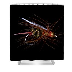 Fly-fishing 4 Shower Curtain