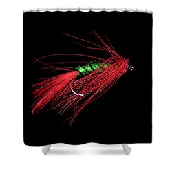 Fly-fishing 5 Shower Curtain