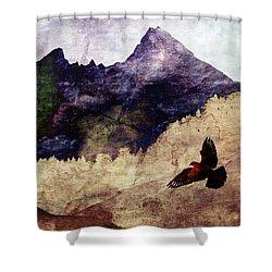 Fly High Shower Curtain by AugenWerk Susann Serfezi