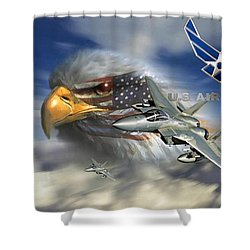 Fly Like The Eagle Shower Curtain