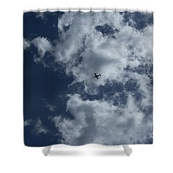 Shower Curtain featuring the photograph Fly Me To The Moon by Megan Dirsa-DuBois