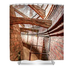 Flying Buttresses In The Dome 1  Shower Curtain