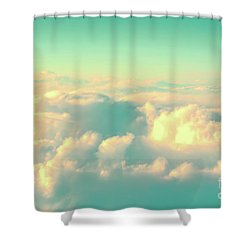 Shower Curtain featuring the photograph Flying by Delphimages Photo Creations