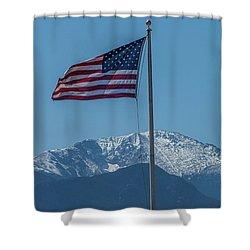 America The Beautiful Shower Curtain