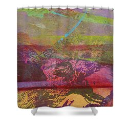Flying Over The Horizon Shower Curtain