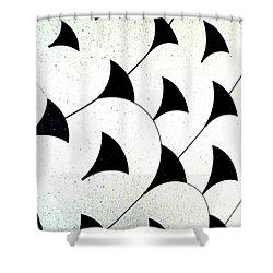 Flying  Shower Curtain by Rebecca Harman