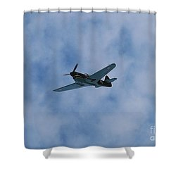 Flying Tiger 1 Shower Curtain