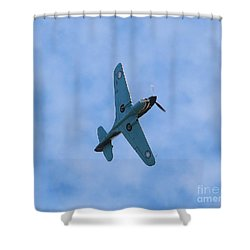 Flying Tiger 3 Shower Curtain