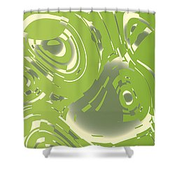 Flying Trapeze Shower Curtain