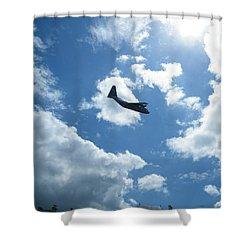 Flypast Shower Curtain