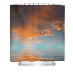Focal Point Shower Curtain by Jerry McElroy